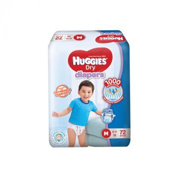 Huggies Dry Diapers M 72's