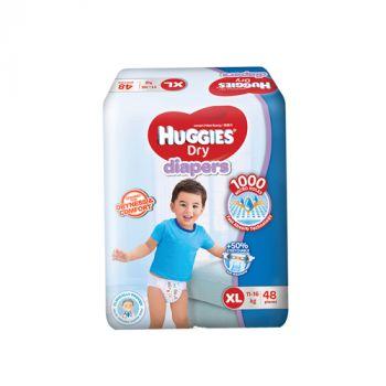 Huggies Dry Diapers XL 11-16kg 48's