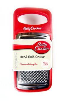 Hand Held Grater / 9 x 18 x 4cm (Betty Crocker)