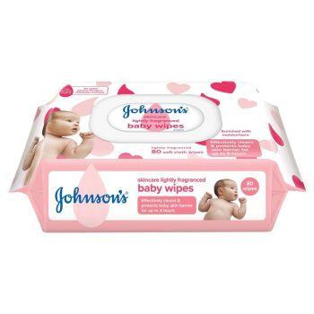 J&J Skincare Wipes 80's