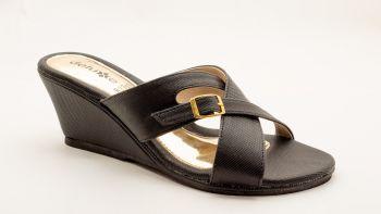D3 - Leah Cross Wedge Heel