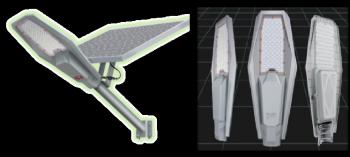Airship Solar Street light