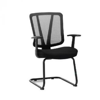M1 Visitor Chair - (Mesh back and fabric seat) - T-081C-1