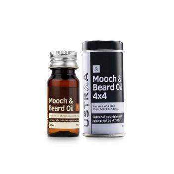 USTRAA Beard & Mooch Oil 4x4 35ml