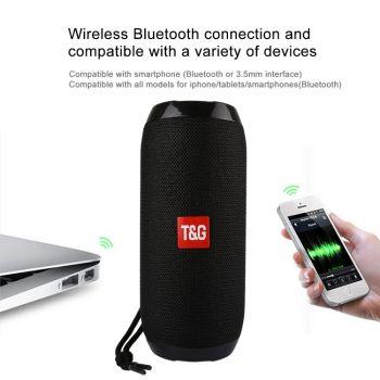 T&G TG117 Portable Bluetooth Stereo Speaker