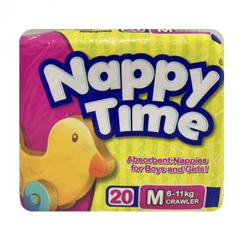 Nappy Time M 20's (183002)