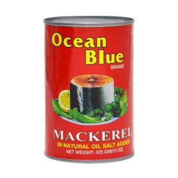 Ocean Blue Mackerel in Natural Oil 425g