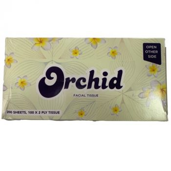 Orchid Facial Tissue 250Sheets (125x2Ply Tissue)