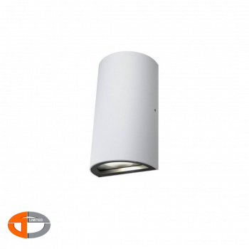 Ledvance Stylish Design Round Faced Led 12W Outdoor Updown Wall Light IP54