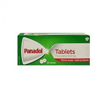 Panadol Tablets 500mg 20's