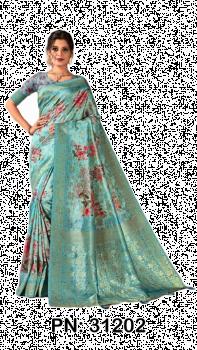 PN:31202 Soft Silk Saree