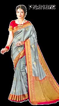 PN:31369 Soft Silk Saree