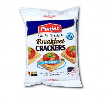 Punjas  Breakfast Crackers  375g
