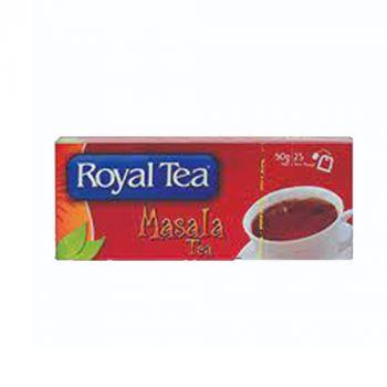 Royal Tea Bags Masala 25's (100011)