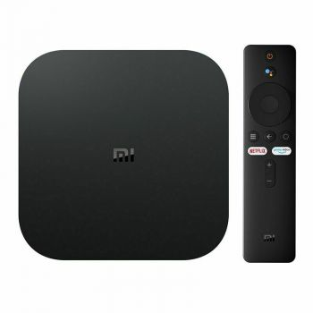 Xiaomi Mi Box S Android TV with Google Assistant Remote Streaming Media Player - Chromecast Built-in - 4K HDR - Wi-Fi