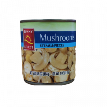 Sunny Select Mushrooms -184g