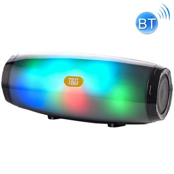 T&G TG165 5W*2 Portable Wireless Speaker Speaker With Dancing LED Flashing Light Mp3 AUX USB FM Radio Stereo Subwoofer