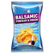 Thumbs Up Potato Chips Balsamic Vinegar & Onion 150g