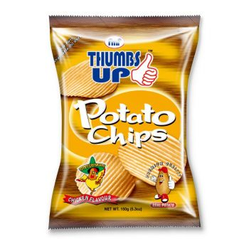 Thumbs Up Potato Chips Chicken 150g