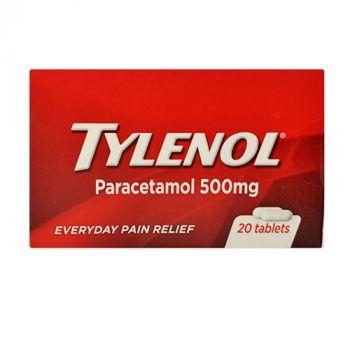 Tylenol Tab 20's