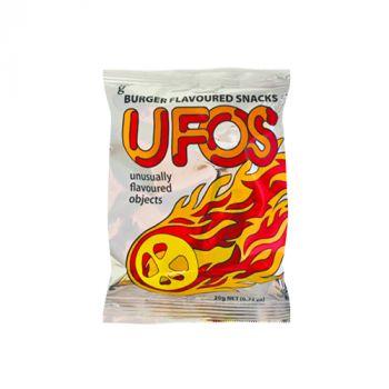 Ufos Burger Flavoured snacks 20g