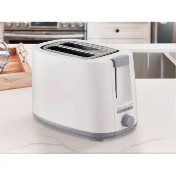 Sheffield 2 Slice Toaster - White - PLA0406