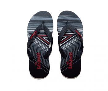 B2 – Bahamas Slippers - Black/Red
