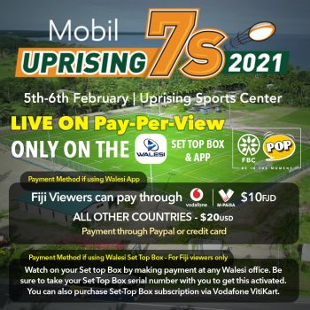 Uprising 7s 2021 Subscription