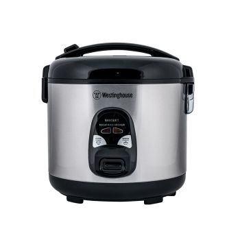 Westinghouse Rice Cooker, 10 Cup, Stainless Steel - WHRC10C01SS