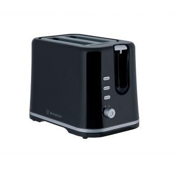 Westinghouse 2 Slice Toaster - Black Plastic - WHTS2S03K